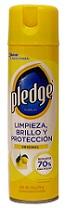 Pledge Cuidado de Muebles Limón