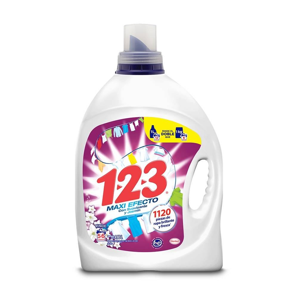 Detergente 1 2 3 Líquido