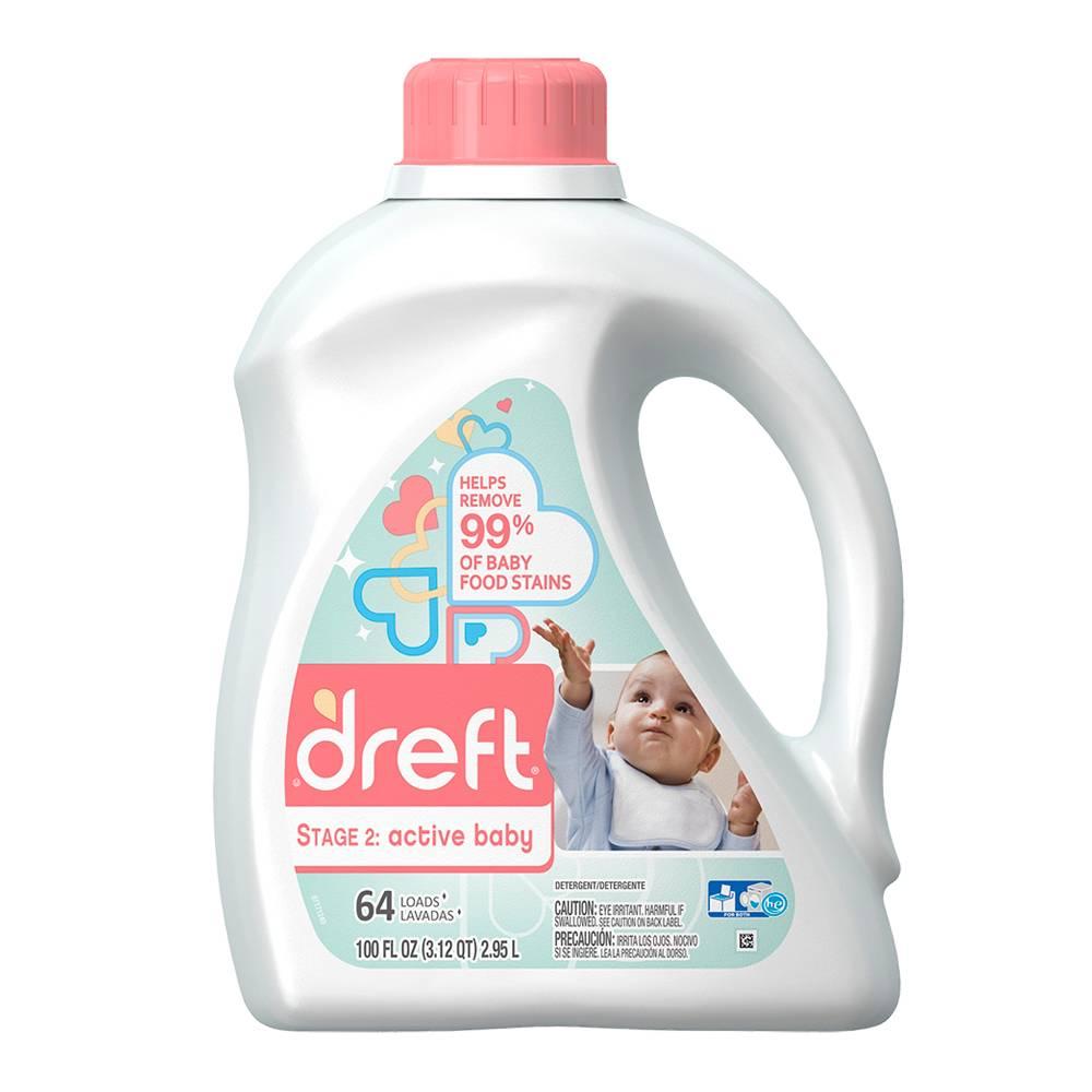 Active Baby Detergente Líquido Dreft