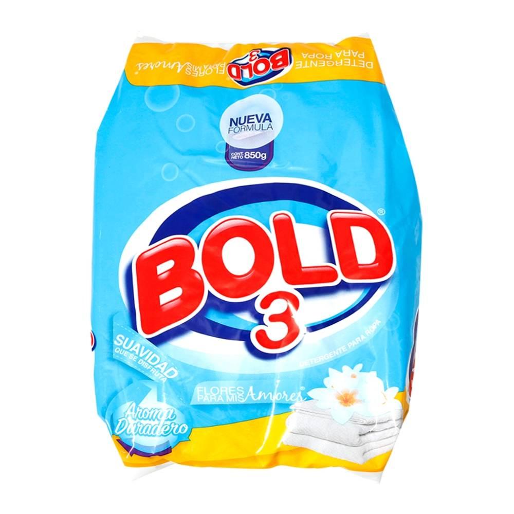 Detergente Bold Polvo