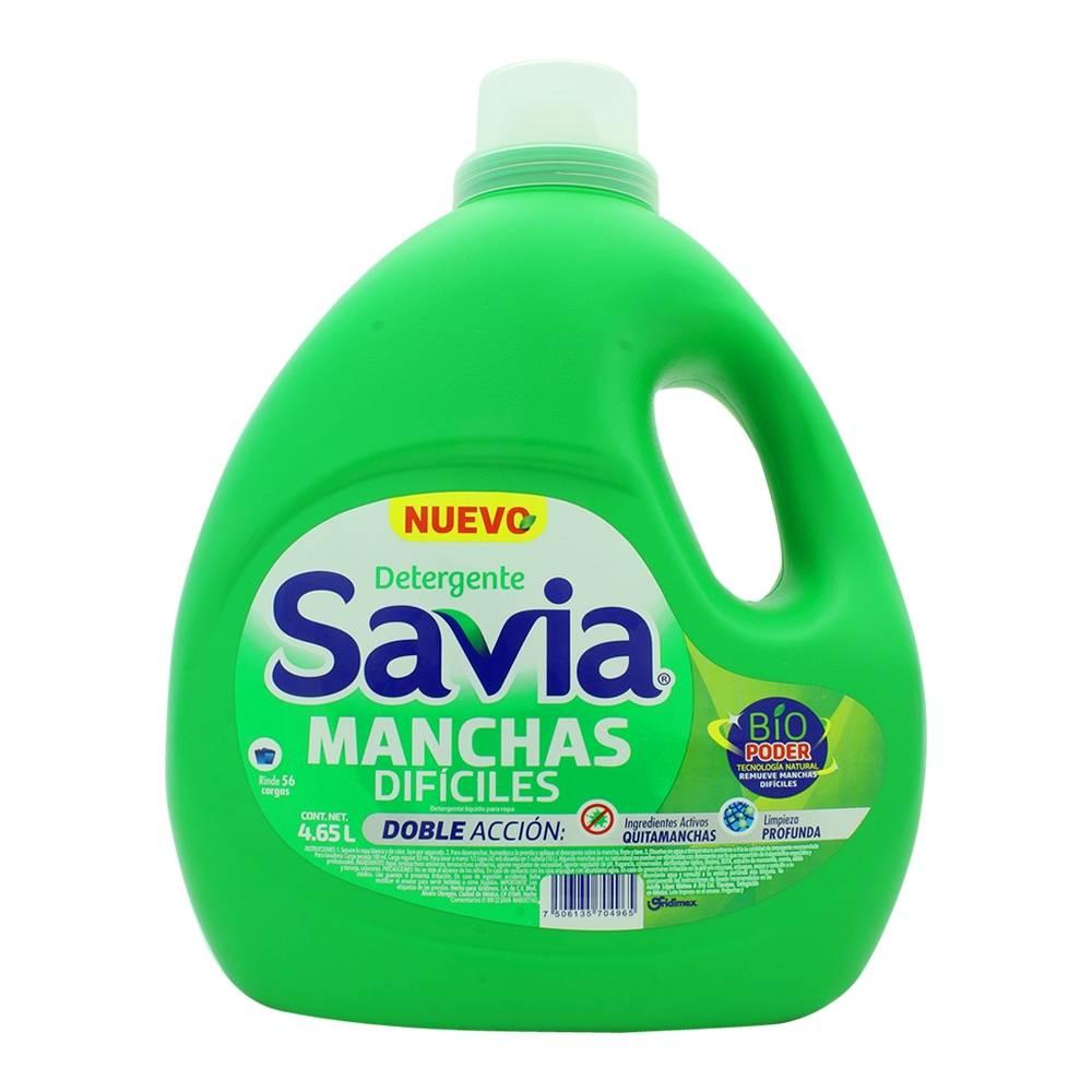 Detergente Líquido Manchas Difíciles Savia