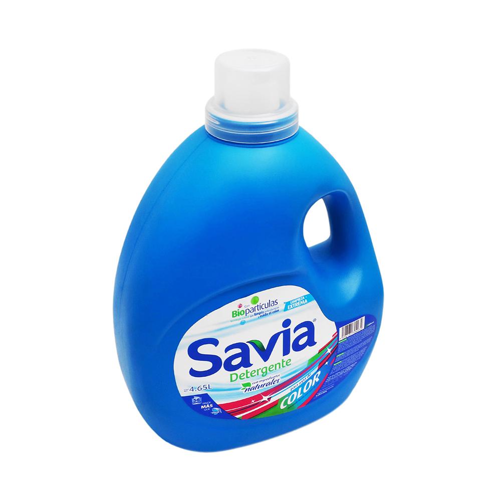 Detergente Líquido Ropa de Color Savia