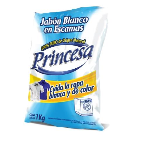 Detergente Jabón en Escamas Princesa