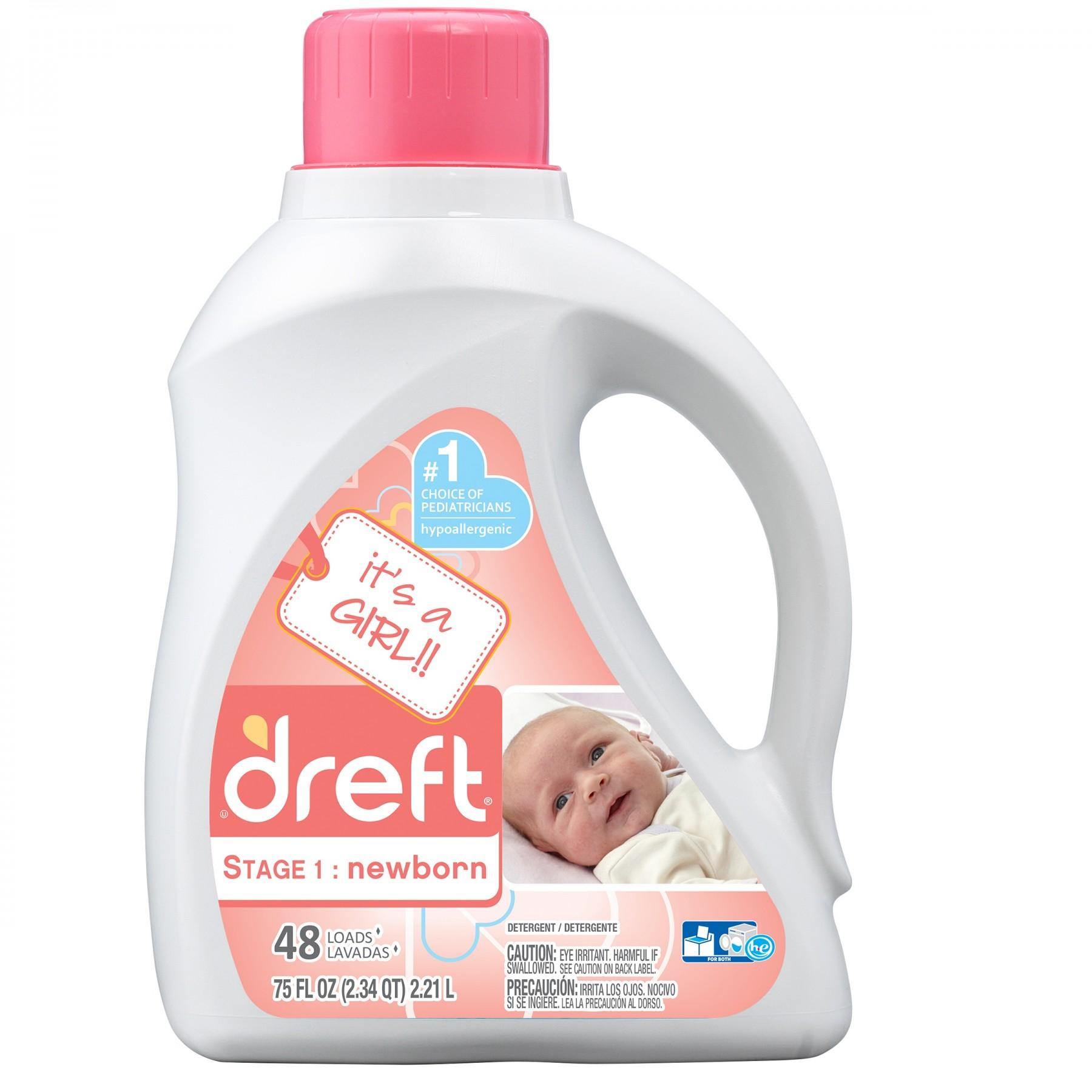 Newborn Detergente Líquido Dreft