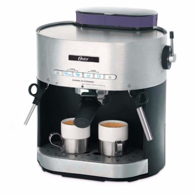 Cafetera semiautomática espresso y cappucino Oster