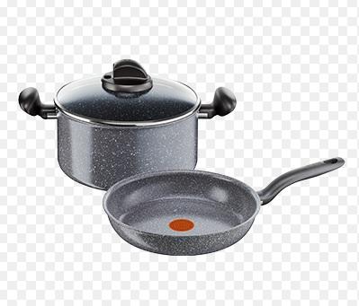 Batería de Cocina de Inducción con efecto Piedra R-P-Meteor-MX