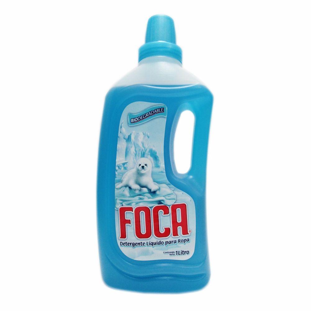 Detergente Líquido Foca para Ropa