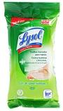 Toallitas Lysol húmedas para manos contra bacterias