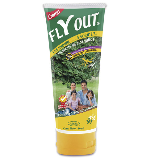 Repelente de insectos Fly Out en Crema