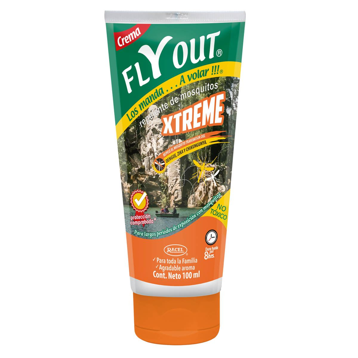 Repelente de insectos Fly Out Crema Xtreme