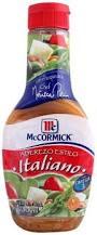 Aderezo Italiano McCormick