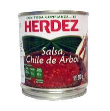 Salsa Hérdez Lata Chile Fresco