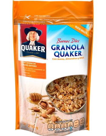 Granola Quaker con Almendras y Miel
