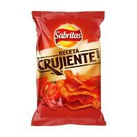 Sabritas Crujiente con Chiles Rojos