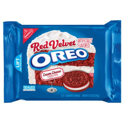 Galleta Oreo Red Velvet