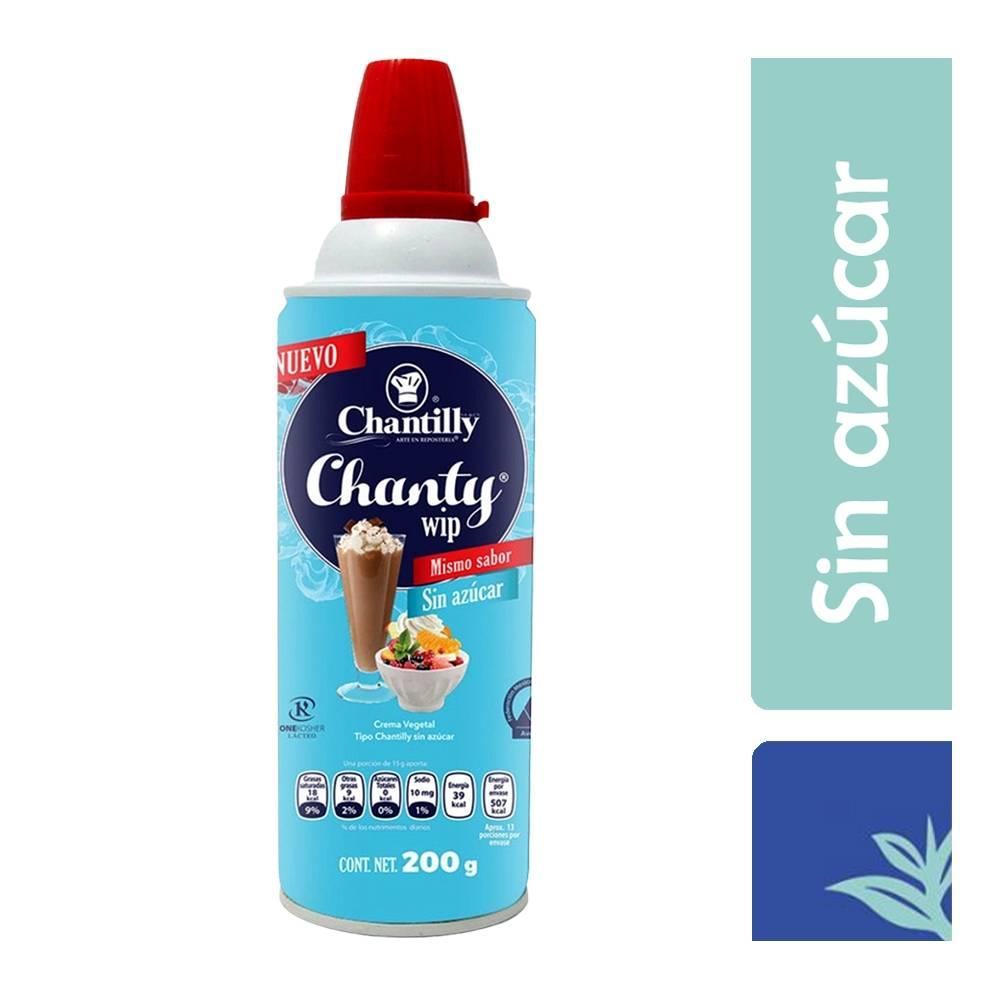 Chantilly Sin Azúcar