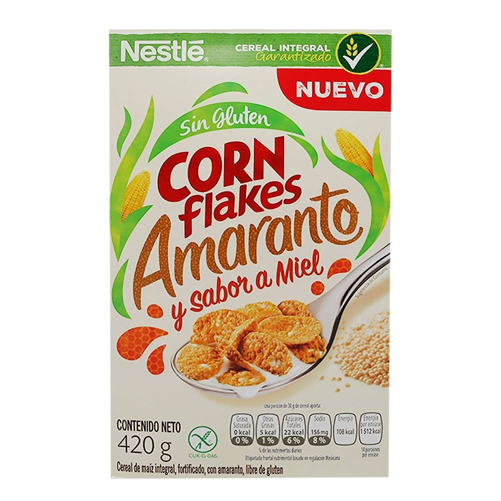 Corn Flakes Amaranto 420gr
