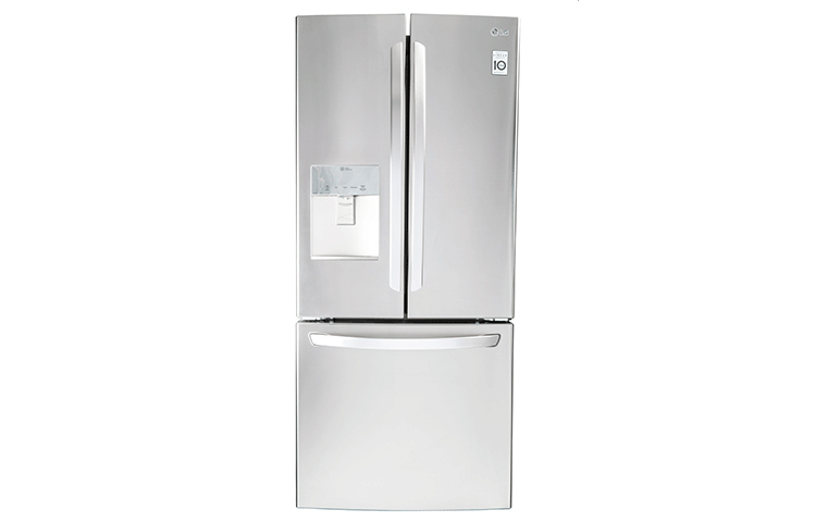 Refrigerador LG de 22 pies, con congelador inferior