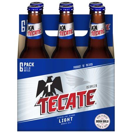 Cerveza Tecate light - 6 pack - 355 ml c/u