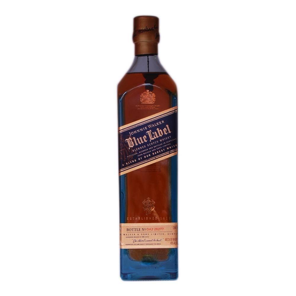 Whiskey Johnnie Walker Etiqueta Azul