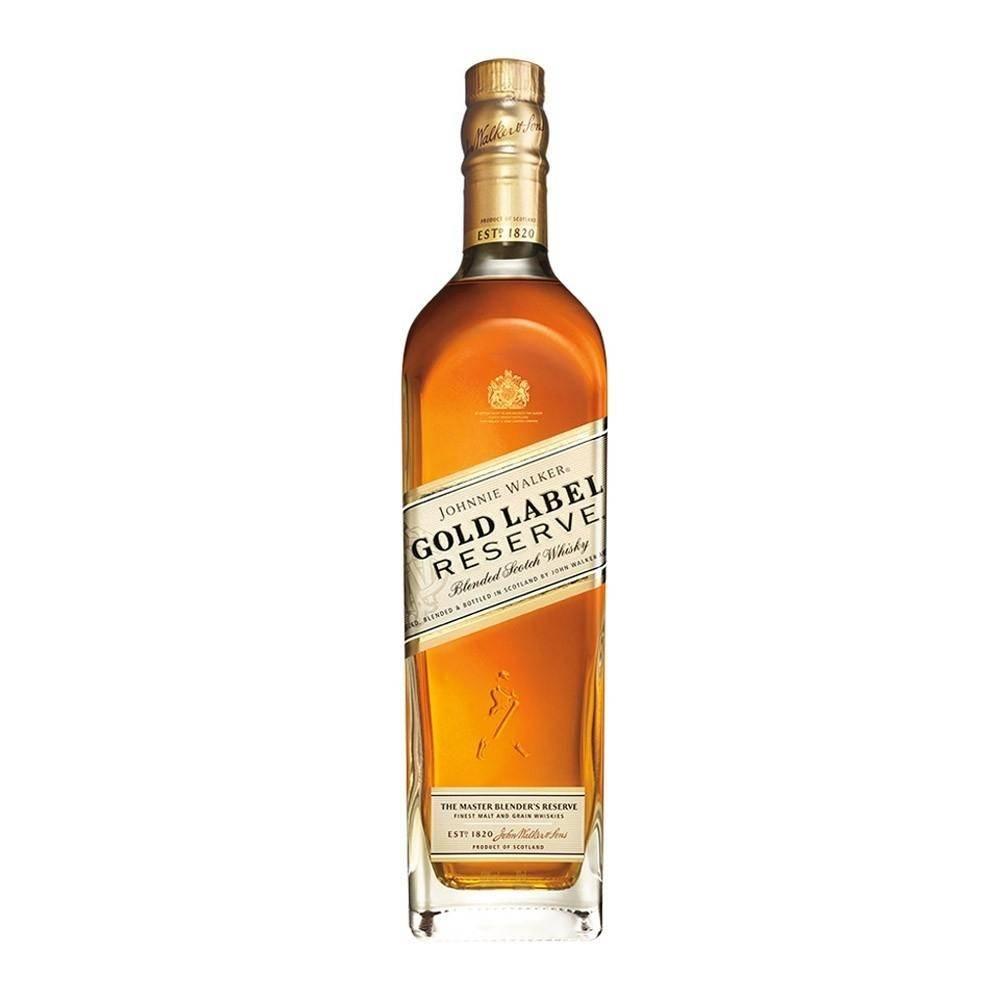 Whiskey Johnnie Walker Gold Label