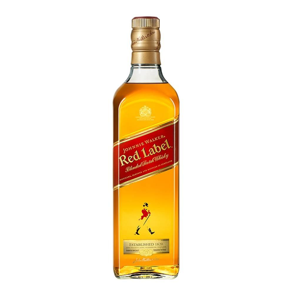 Whiskey Johnnie Walker Etiqueta Roja